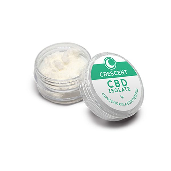 Crescent Canna Organic CBD Isolate Powder
